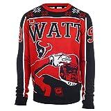 Houston Texans J.J. Watt #99 Crewneck NFL Ugly Sweater