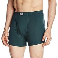 Jockey Men's Cotton Trunks  8901326018422 8008-0110-ASSTD Bottle Green XL