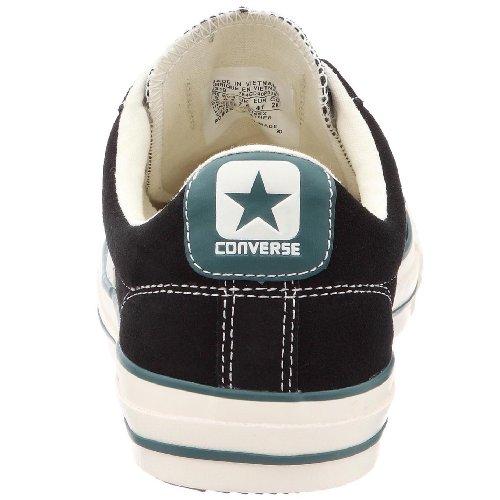 Converse Star Player Suede Ox, Baskets mode mixte adulte Noir