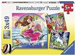 Ravensburger 09367 Puzzle Puzzle - Rompecabezas (Puzzle Rompecabezas, Arte, Niños y Adultos, Fantasy Friends, Niño/niña, 5 año(s))