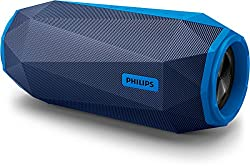 Philips Shoq Box SB500A/00 Stereo Portable Bocina Speaker (Blue)