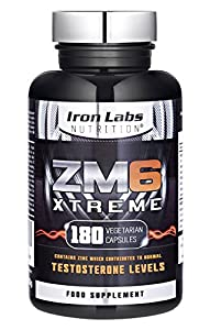 ZM6® Xtreme - 2,100mg | 180 Vegetarian Capsules | 2-3 month supply | Zinc Magnesium Supplement (Officially Licensed ZM6®) | Contains Zinc for Testosterone Levels