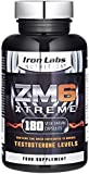 ZM6® Xtreme - 2,100mg | 180 Vegetarian Capsules | 2-3 month supply | Zinc Magnesium Supplement (Officially Licensed ZM6®) | Testosterone, Muscle Growth & Strength