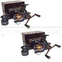 Carp Pike Coarse Fishing Baitrunner Reels With 10LB Loaded Line X 2