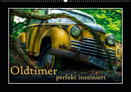 ziniert (Wandkalender 2019 DIN A2 quer): Bilder verschiedener, teils ausgedienter Oldtimer (Monatskalender, 14 Seiten ) (CALVENDO Mobilitaet) ()