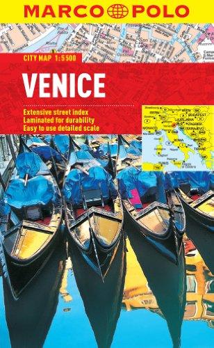 Venice Marco Polo City Map (Marco Polo City Maps)
