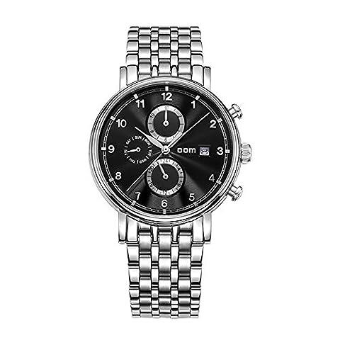 Sheli Homme Montres Top Marque de Luxe Noir Cadran étanche Mécanique en Acier Inoxydable Montre Affaires Reloj Hombre Reloj