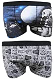 Star Wars Darth Vader Mens Boxer Trunks Dos Paquetes - S