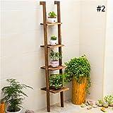 BOBE SHOP- Boden Blumen Regal Bücherregal Einfache Regale Lagerregale Organisieren Zulassung Regal Kinder Wohnzimmer ( Farbe : # 2 )