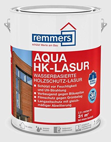 Remmers AQUA HK-Lasur - nussbaum 2,5ltr