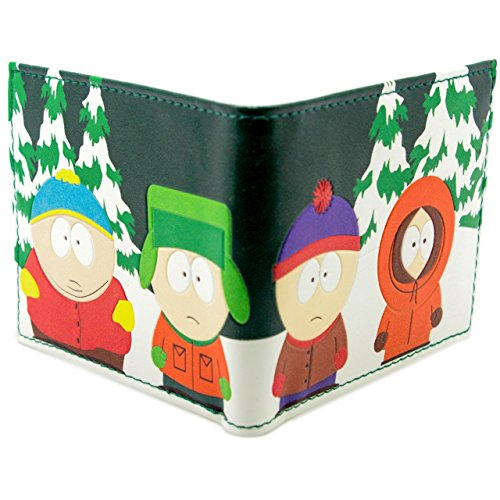cartera-de-tv-south-park-kyle-kenny-eric-stan-verde