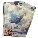Nada Home Vorhang Frozen Disney Velo Elsa & Anna Original Idee Geschenk Kinderzimmer Mädchen New