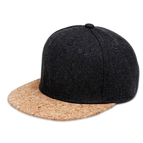 Zantec Mütze Hut, Mode Cool Einstellbare Hysterese Hip Hop Tanzen Golf Baseballmütze Weichen Bequemen Unisex Flache Bill Outdoor Hut (Nfl Golf Hut Einstellbare)