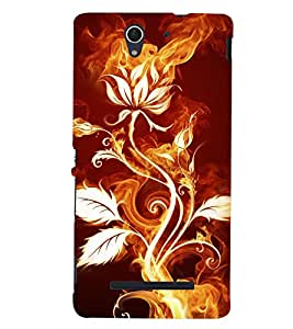 A2ZXSERIES Back Case Cover for Sony Xperia C3 Dual :: Sony Xperia C3 Dual D2502