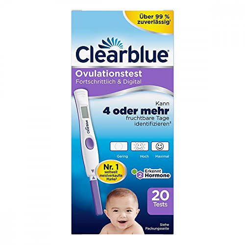 Clearblue Ovulationstest fortschrittlich & digital 20 stk