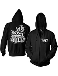 f299007bf6f15 Cypress Hill Oficialmente Licenciado Cracked Zipped Sudaderas con Capucha