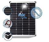 preVent GmbH Solarmodul 100W Solarpanel 24V Monokristallin 72 PERC Solarzellen 5 BusBars