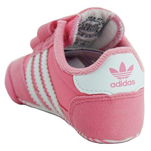 adidas Dragon L2w Crib, Sneakers Basses Mixte Enfant, XX Rose (Easy Pink/ftwr White/easy Pink)