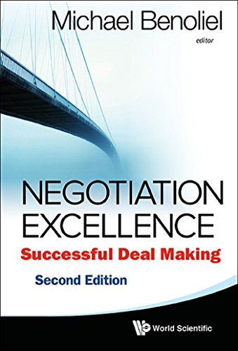 Negotiation Excellence:Successful Deal Making (English Edition)