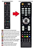 Ersatz Fernbedienung passend für Orion TV CLB32B700 | CLB32B870DS | CLB50B1070S | CLB32R890DS | CLB24B485DS | CLB28W680D | CLB28B680D | CLB24B310 | CLB24W490DS | CLB32W890DS | CLB32W870DS