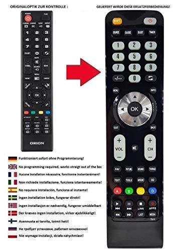 Ersatz Fernbedienung passend für Orion TV CLB32B750S   CLB32B760S   CLB32B770S   CLB32B731   CLB32B730   CLB32B730S   CLB32B720   CLB32B721