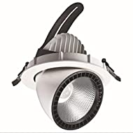 Xh&Yh Elephant Nose Light Lighting Embedded Business Lampes Éclairage Economie d'énergie 25W Cool White (5700k) LED Lights