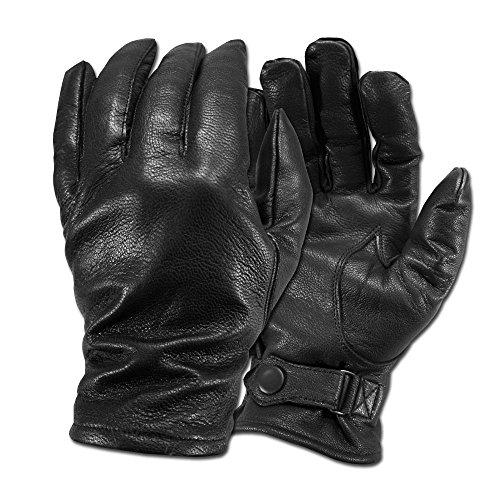 BW Lederhandschuhe schwarz Größe 12