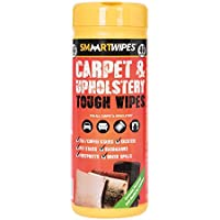 Smaart 892745 Carpet & Upholstery Tough Wipes Pack of 40