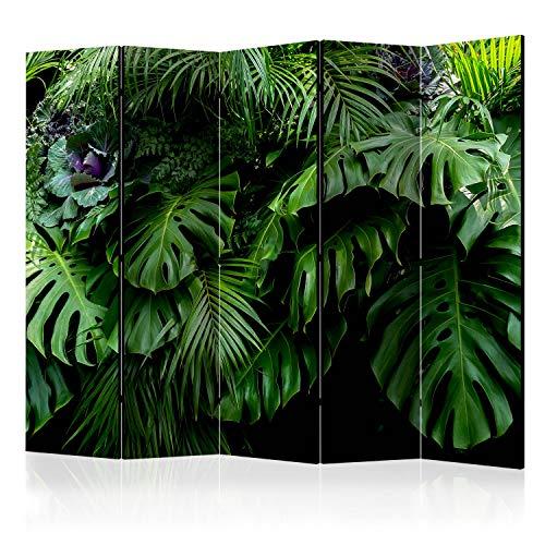 murando - Biombo con Tablero de Corcho – Foto Biombo Tropical 225x172 cm - de impresión Bilateral en el Lienzo de TNT 100% Opaco - Biombo Decorativo para Interiores - b-B-0331-z-c