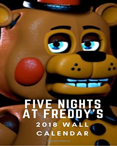 Hot Halloween Teen (Five Nights At Freddy's  2018  Wall Calendar: bear fan game lover: weekly planner,notebook,plan for success,schedule book,hot bear,game planner,beautiful)