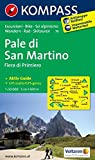 Carta escursionistica n. 76. Pale di San Martino. Adatto a GPS. Digital map. DVD-ROM