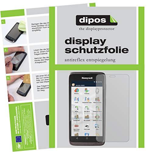 dipos I 6X Schutzfolie matt passend für Honeywell EDA51 Folie Displayschutzfolie