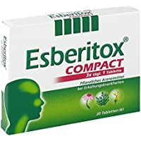 Esberitox compact Tabletten, 20 St. preisvergleich bei billige-tabletten.eu