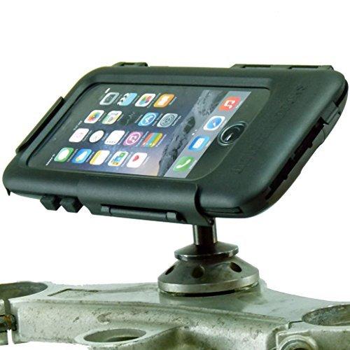 buybits 12mm Motorrad Lenker Vorbau Halterung & Hard Robuste Hülle für iPhone 8 Plus (5.5