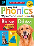 Scholastic Early Learners Wipe Clean Workbooks:  My Very First Phonics (Scholastic Early Learners (Cartwheel - US))