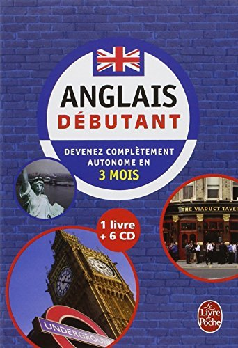 COFFRET ANGLAIS D?BUTANT LIVRE + 6 CD (ANGLETERRE) by PIERRE GALLEGO (January 04,2009)