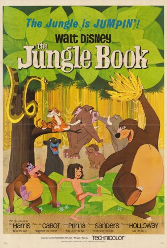 Image of The Jungle Book Poster B Movie 69cm x 102cm (approx.)