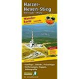 Harzer Hexen-Stieg: Wanderkarte mit Ausflugszielen, Einkehr- & Freizeittipps, wetterfest, reissfest, abwischbar, GPS-genau. 1:25000
