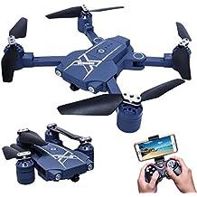 Ularma Nuevo 2.4 G Mini Bolsillo Plegable RC Drone Del Wifi FPV Cámara Una Vuelta Clave
