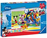 Ravensburger 08983 - Mickey Mouse Clubhouse - Mickey, Minnie und Freunde, 2 x 20 Teile Puzzle