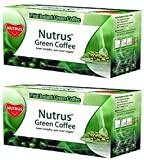 #2: Nutrus Green Coffee 20 sachets – Pack of 2(Instant powder form for weight loss)