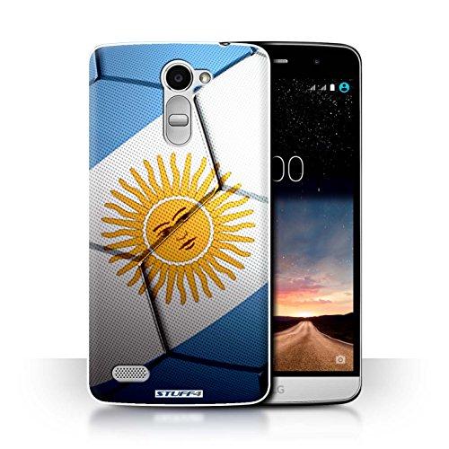 Stuff4® Hülle/Case für LG Ray/X190 / Argentinien Muster/Fußball Nationen Kollektion
