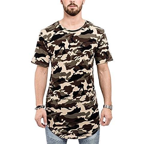 Phoenix Oversized Round T-Shirt Mens