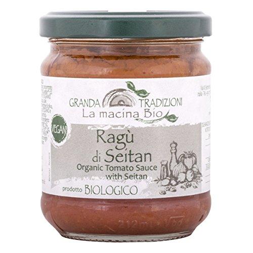 Ragù di Seitan Biologico, 180 g