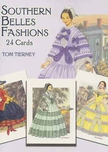 Southern Belles Fashions: 24 Cards (Dover Postcards) (Belle Southern Kostüme)