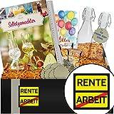 Zur Rente | Geschenkbox Angesetzter | Rentner Geschenk
