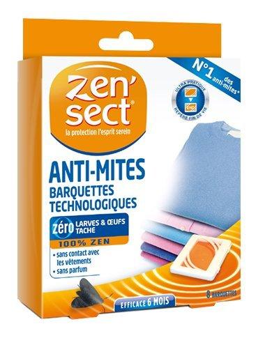 Zensect Abbigliamento Anti-falena 16 vassoi tecnologici Maxi Formato