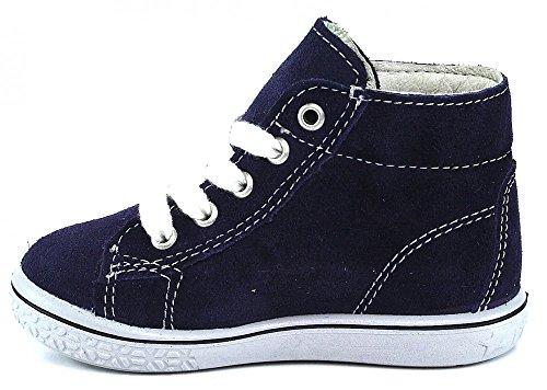 Ricosta Baby Jungen Schnuerschuhe, Stiefel blau, 460822-5 blau