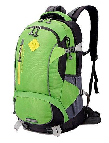 ZQ 40L L Tourenrucksäcke/Rucksack Camping & Wandern / Klettern Draußen Multifunktions Grün / Rot / Schwarz / Blau Nylon No Green