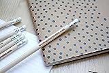 Crayon personnalisé, crayon à papier personnalisé en bois, échantillon ou cadeau, x1